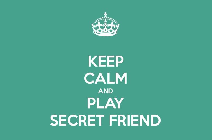 игра тайный друг в лагере